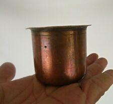 Old Vintage Beautiful Handmade Copper Holy Water Pot / Mug/ Glass Collectible