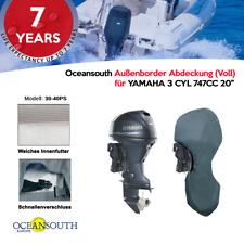 """Oceansouth Außenborder Abdeckung (Voll) für Yamaha 3 CYL 747cc 30-40 PS 20"""""""