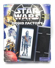 STAR WARS TRILOGY DROID FACTORY - COLOURING PLATES TOY Design 1996 Vintage