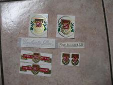 kit stickers adesivi per bici vintage UMBERTO DEI superleggera