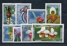 Laos 311/14 + 337/40 postfrisch / Orchideen ..............................1/2497