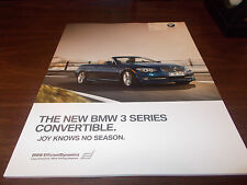 2011 BMW 3-Series Convertible 70-page Deluxe Sales Catalog
