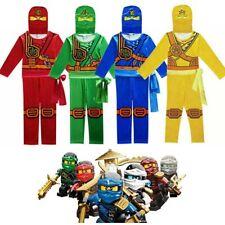 Ninjago Kostüm Kai Jay Lloyd Einteiler Jungen Kinder Bodysuit Cosplay Halloween