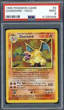 1999 Pokemon Game #4 Charizard holo PSA 9