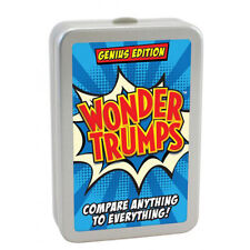 WONDER prevale GENIUS EDIZIONE TOP CARD GAME Kids Bambini Adulti Stocking Filler