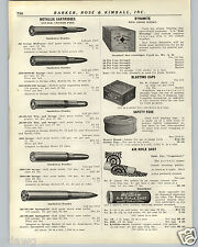 1936 PAPER AD Red Cross Extra Dynamite Wood Wooden Box Blasting Caps Dupont