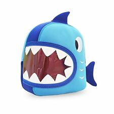 Waterproof Animal Toddler Kids Backpack 3D Shark Cute Cartoon School Hiking Bag