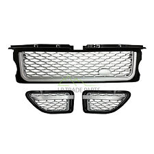 RANGE ROVER SPORT FRONT BLACK AUTOBIOGRAPHY STYLE GRILLE & SIDE VENTS (2005-09)