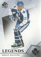 2015-16 SP Authentic Hockey #128 Borje Salming Toronto Maple Leafs