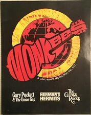 The Monkees 20th Anniversary World Tour Program Herman's Hermits The Grass Roots