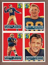 COMPLETE 1956 Topps Green Bay Packers TEAM SET - 1994 Archives - Rote, Dillon ++