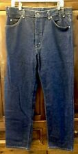 Vintage Levis 505 Orange Tab Dark Denim 70s 80s 501 No Big E Redline 38/30