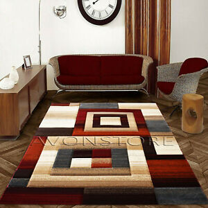 Large Excellent Modern Rug Thick Soft Rug Non Slip Area Rugs Runners Carpets Mat