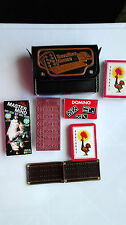 vintage travellers games case+ 4 games,travel Mastermind Game 1972 edition +