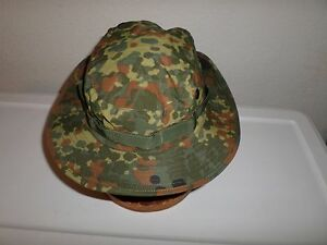 NEW GERMAN FLECKTARN CAMOUFLAGE TRILAM BOONIE HAT SIZE XX- LARGE