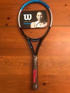 """New Wilson ULTRA 100L v3  Tennis Racket Racquet  4 1/4"""" Grip, Unstrung"""