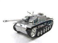 100% Metal Mato 1/16 Stug III RC KIT Tank Infrared Barrel Metal Color 1226