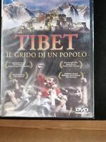 DVD film documentario TIBET IL GRIDO DI UN POPOLO  con DALAI LAMA nuovo