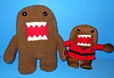 """Domo Black Belt Red Jacket Kung Fu Karate n Brown Domo Kun Stuffed Toy 10"""" n 14"""""""