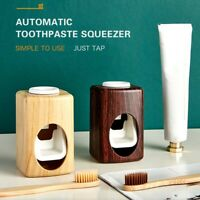 Automatic Toothpaste Dispenser Toothpaste Squeezers Dust-proof Toothbrush Holder