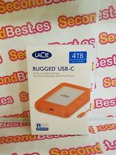 Disco duro portátil LaCie Rugged USB-C 4TB