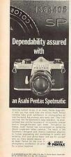 1968 Advertising - Asahi Pentax Spotmatic Camera - from 1968 Magazine