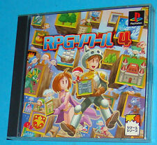 RPG Maker 4 - Sony Playstation - PS1 PSX - JAP