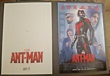 Ant Man (2015) 13 x 19 Original Studio Theatrical Movie 2SD Poster NOT A REPRINT