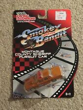 Racing Champions Smokey And The Bandit Montague County Sheriff Car 1:64 MOC 2002