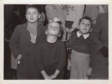 ©Yvon Beaugier, enfants Paris 1954 2 tirages originaux