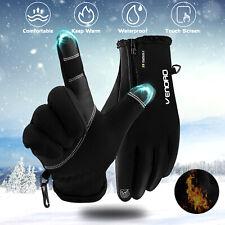 Winter Touch Screen Gloves Outdoor Ski Drive Warm Windproof Waterproof Men Women