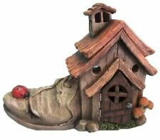 Fairy Garden-Shoe House with Ladybug