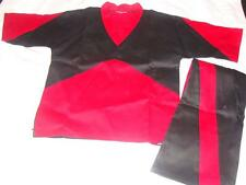 New In Package Century Demo Uniform Size 2 Black & Red ~Free Us Ship