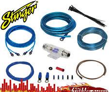 Ssk8 Stinger 8 Gauge Power Amplifier Install Kit Up2 600 watts 60 amp