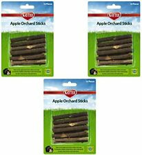 Kaytee Apple Orchard Sticks 10ct For Hamsters, Rabbits, Guinea Pigs PACK OF 3