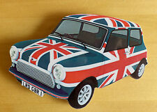Mini Car Fridge Magnet, 60s Mod Mini Fridge Magnet, Union Jack Mini Car Magnet