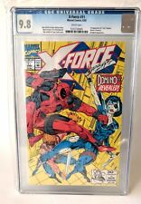 X Force #11 Marvel DOMINO first deadpool key xmen CGC 9.8 MINT