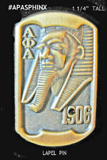 be2a8a26ff24 Alpha Phi Alpha Gold Sphinx Pin with