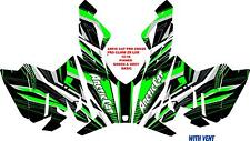 ARCTIC CAT ZR PROCROSS PROCLIMB SNOWMOBILE GRAPHICS KIT 2012-2016 PINNED BASIC