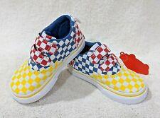 Vans Toddler Boyl's Doheny V Checkerboard Multicolor Skate Shoes - Size 6/7 NWB