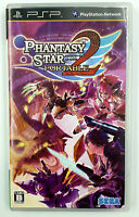 Phantasy Star Portable 2 - Playstation PSP - Complet - NTSC-J / JAP