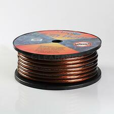 Road Rage Black 4 Gauge AWG 100 FT Xtreme Hight Performance Wire Cables