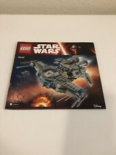 Lego Star Wars #75147 Sith Scavenger instruction book/manual only