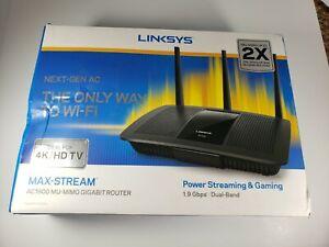 Linksys AC1900 Max Stream Mu Mimo Gigabit Wireless Router EA7500
