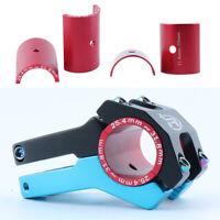 Bike Stem 25.4mm to 31.8mm Shim Adapter Handlebar Size Adaptor 31.8 to 35mm