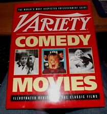 Vintage 1992 Hardcover BOOK VARIETY Comedy Movies 128pp Illustrated Review