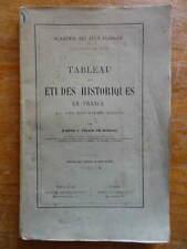 Abbé J. Tolra de Bordas Etudes Historiques en France Toulouse Jeux Floraux envoi