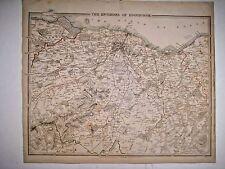 1838 SDUK: Map of the Environs of Edinburgh