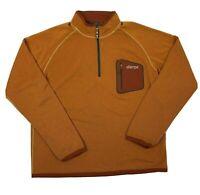 Sherpa Adventure Gear Partial Zip Pullover Outer Layer Shirt Men's Size XL