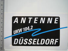 Aufkleber Sticker Radio - Antenne Düsseldorf - UKW (5132)